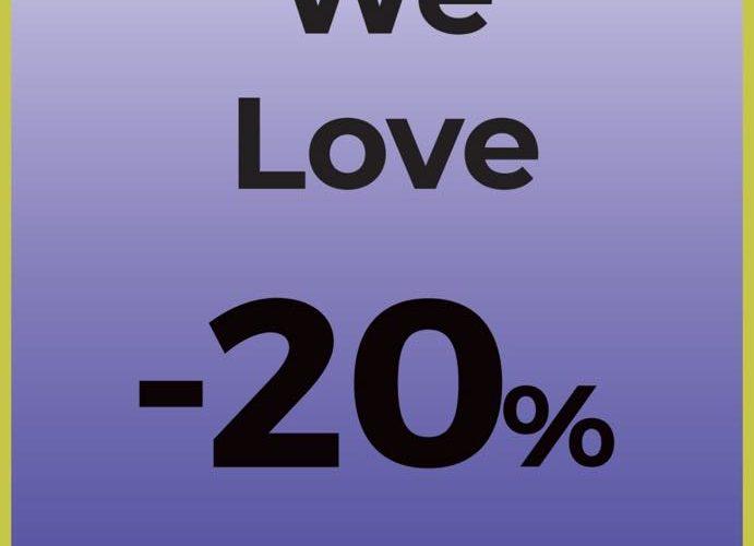 Promo Stradivarius Maroc WE LOVE -20% Jusqu'au 24 Décembre 2018