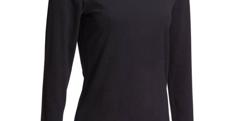 Photo of Soldes Decathlon T-Shirt DOMYOS Gym Stretching femme 49Dhs au lieu de 69Dhs