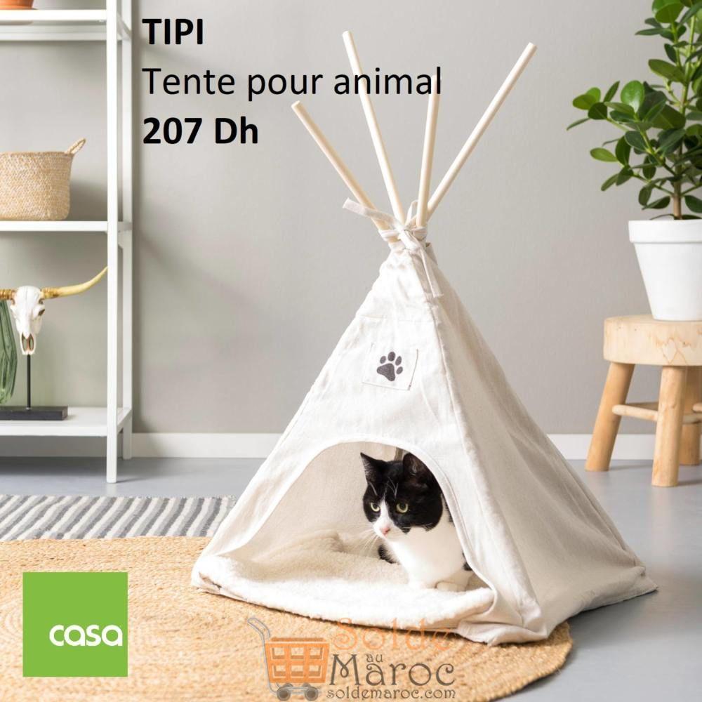 Nouveau chez Casa Maroc Tente pour animal TIPI 207Dhs