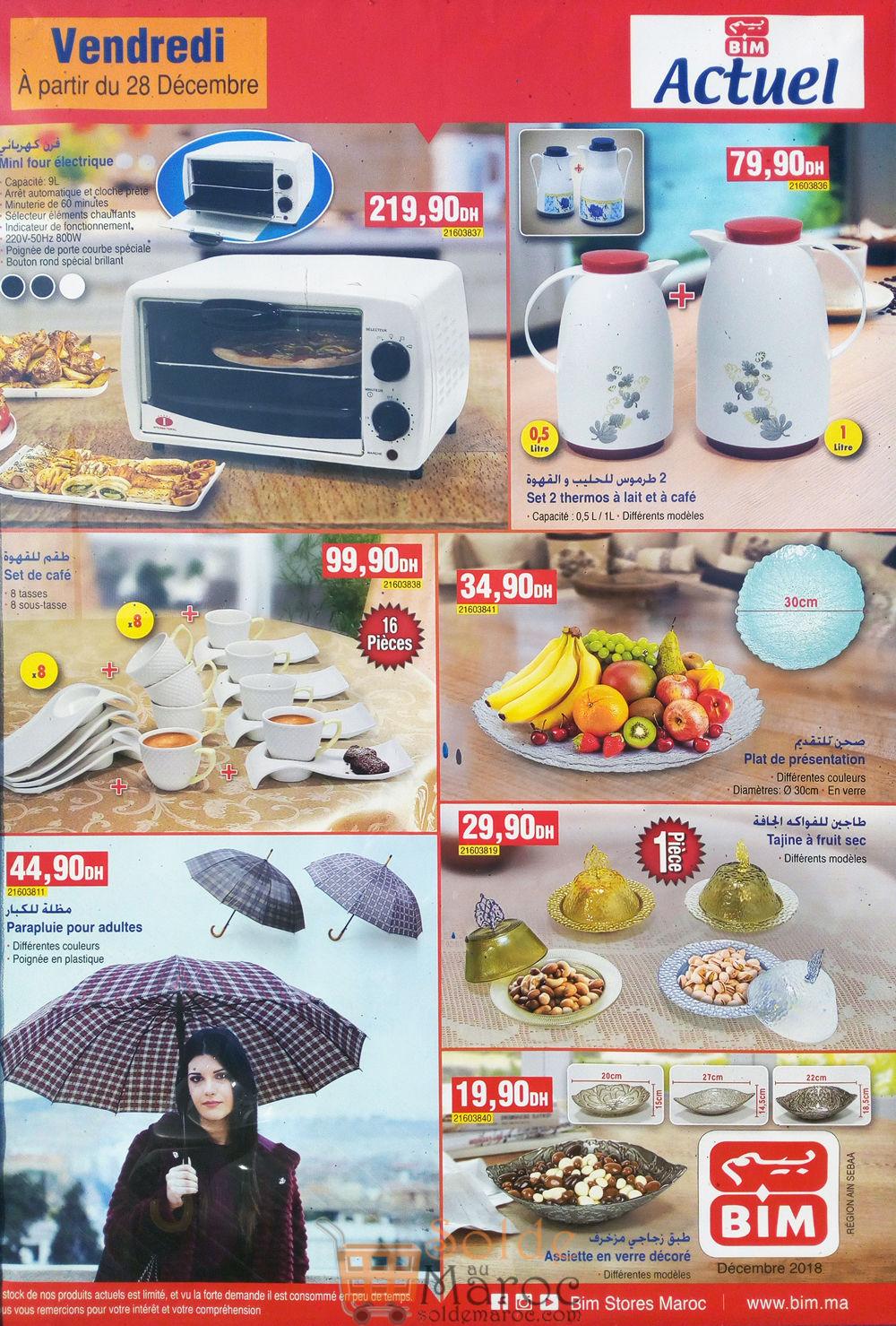 Catalogue Bim Région Ain Sebaa Casa du Vendredi 28 Décembre 2018