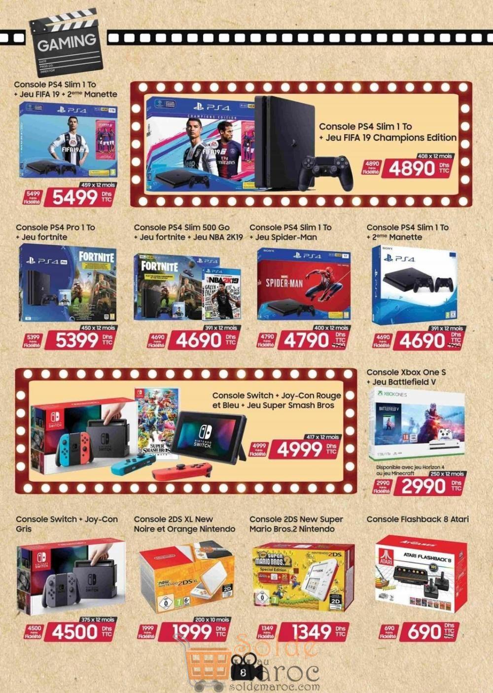 Catalogue Virgin Megastore Maroc Jusqu'au 15 Janvier 2019