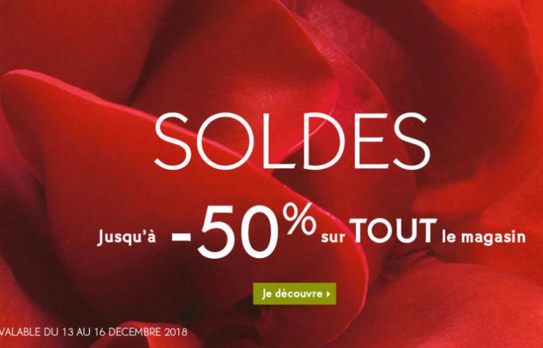 Soldes Yves Rocher Maroc -50% sur tout le magasin Jusqu'au 16 Décembre 2018
