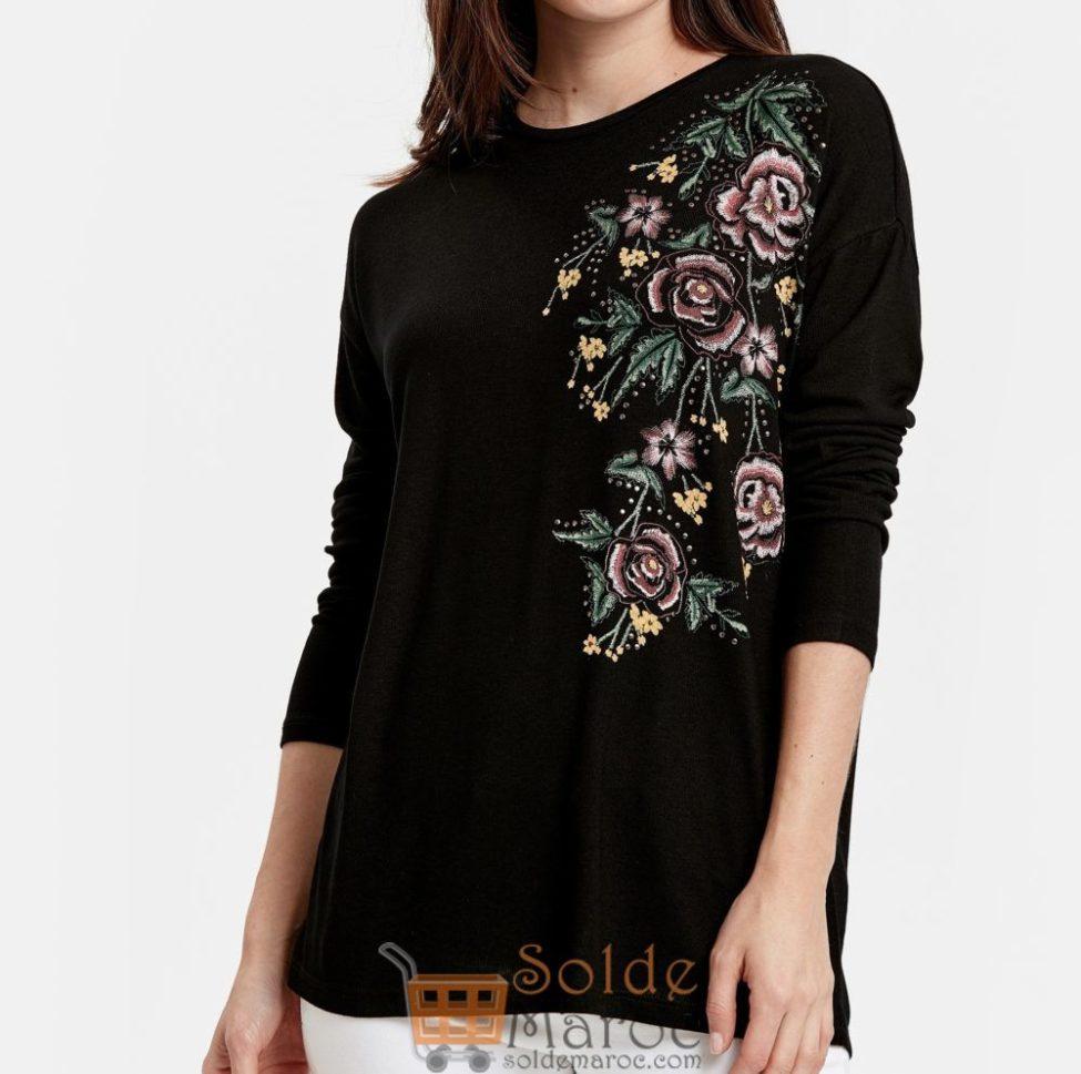 Soldes Lc Waikiki Maroc T-Shirt femme 79Dhs au lieu de 119Dhs