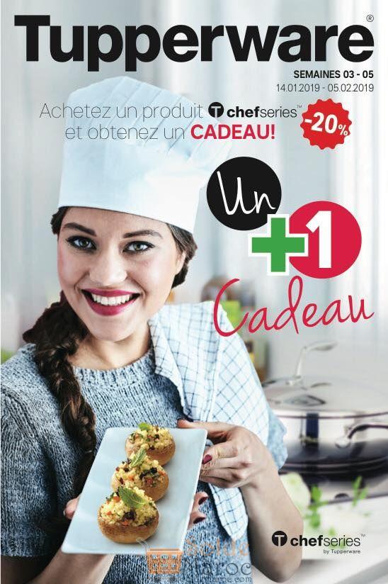 Catalogue Tupperware Maroc jusqu'au 5 Février 2019