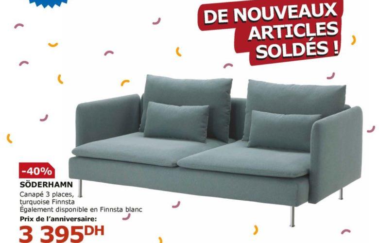 Flyer Ikea Maroc 2 Jours de folie du 22 au 23 Janvier 2019