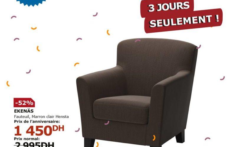Flyer Ikea Maroc 3 jours seulement du 24 au 26 janvier 2019