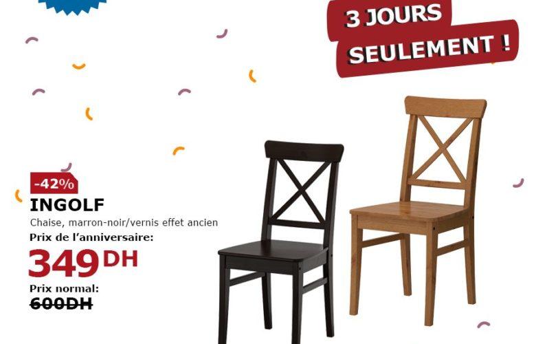 Flyer Ikea Maroc 3 jours seulement du 27 au 29 Janvier 2019
