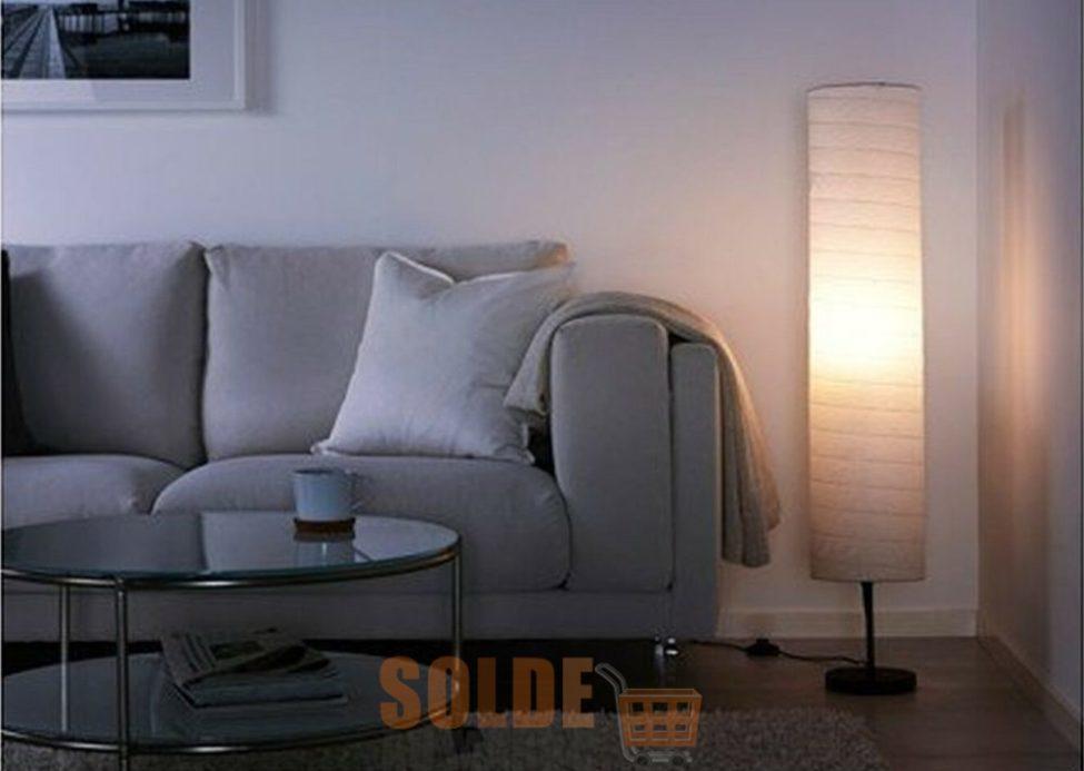 Soldes Jumia Lampadaire blanche + Ampoule LED 149Dhs au lieu de 199Dhs