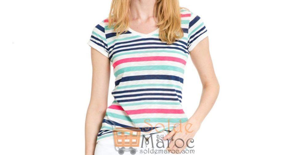 Soldes Lc Waikiki Maroc T-Shirt femme 49Dhs au lieu de 69Dhs