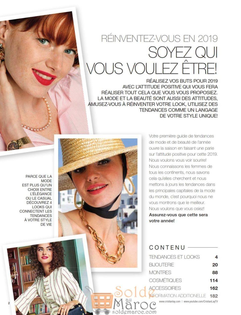 Catalogue Général 1 Cristian Lay Maroc du 14 Janvier au 14 Avril 2019