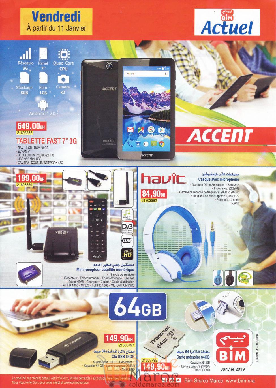 Catalogue Bim Région Mohammedia du Vendredi 11 Janvier 2019