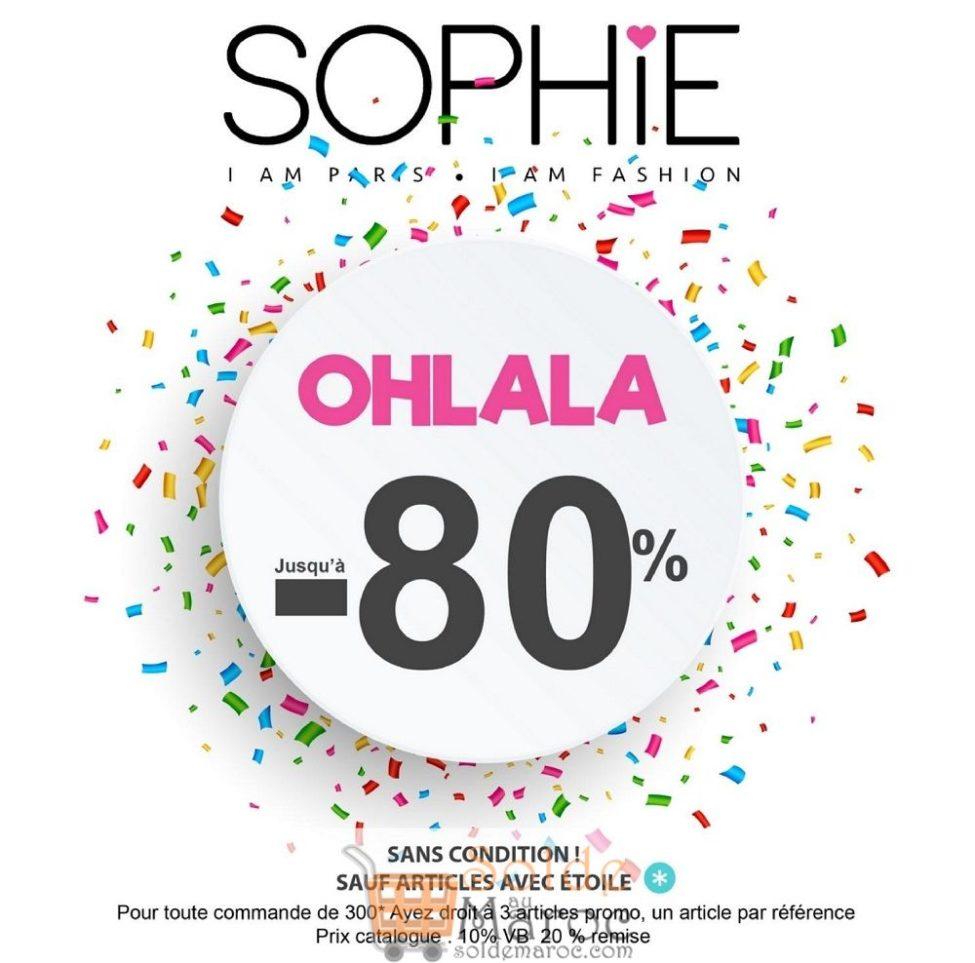 Promos Janvier 2019 Sophie Paris Maroc Jusqu'à -80%