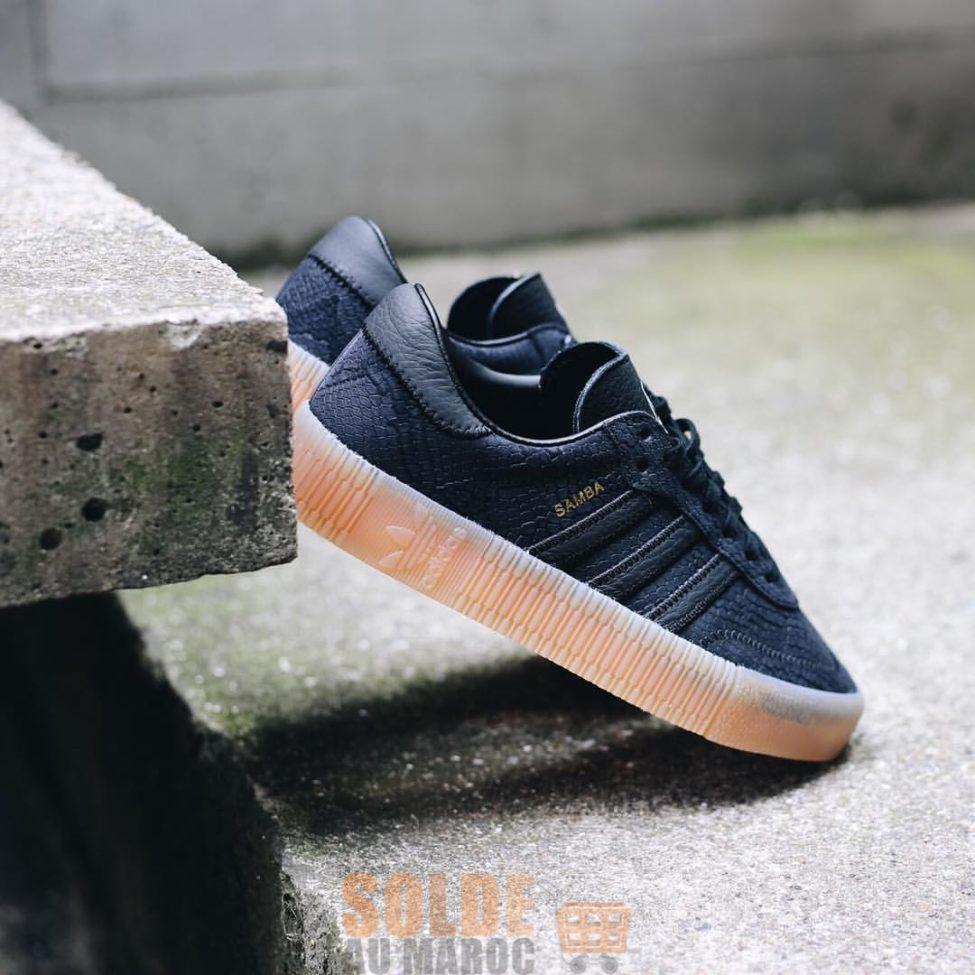 Soldes Courir Maroc Sneaker Adidas Sambarose 717Dhs au lieu de 1195Dhs