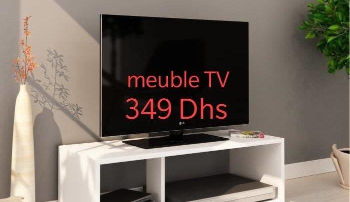 Photo of Offre Spéciale Azura Home MEUBLE TV ALBACETE 349Dhs