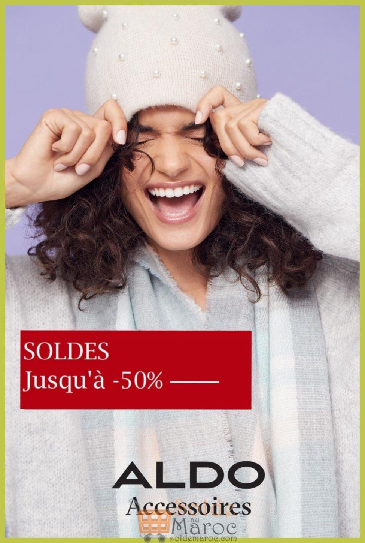 Soldes d'hiver chez ALDO Accessoires Maroc jusqu'à -50%