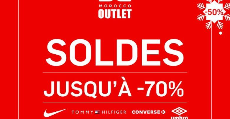Soldes d'hiver chez BD Morocco Outlet jusqu'à -70%