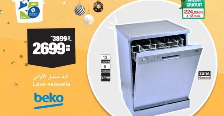Photo of Soldes Aswak Assalam Lave-vaisselle BEKO 2699Dhs au lieu de 3899Dhs