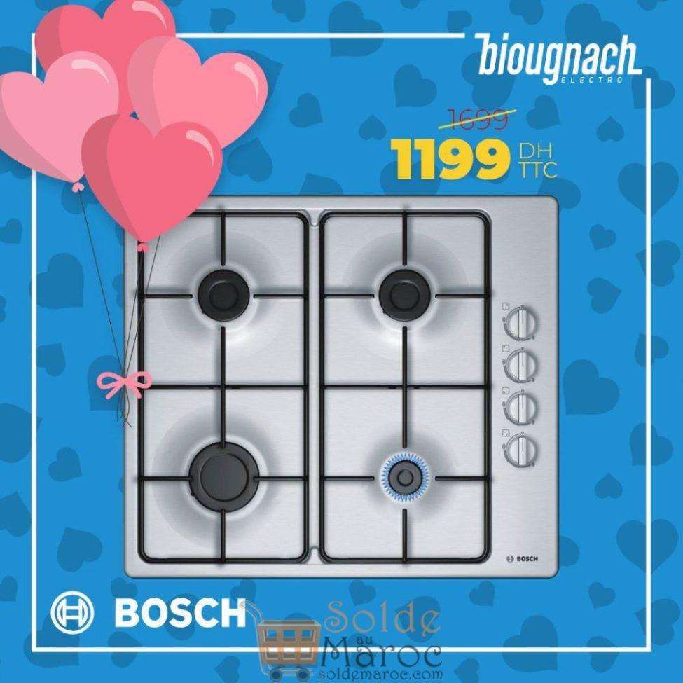 Soldes Biougnach Electro Table de cuisson BOSCH 1199Dhs au lieu de 169Dhs