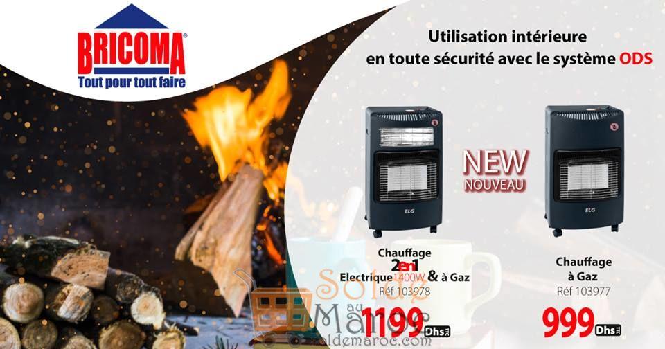 Offre Spéciale Bricoma Chauffage Electrique & Gaz