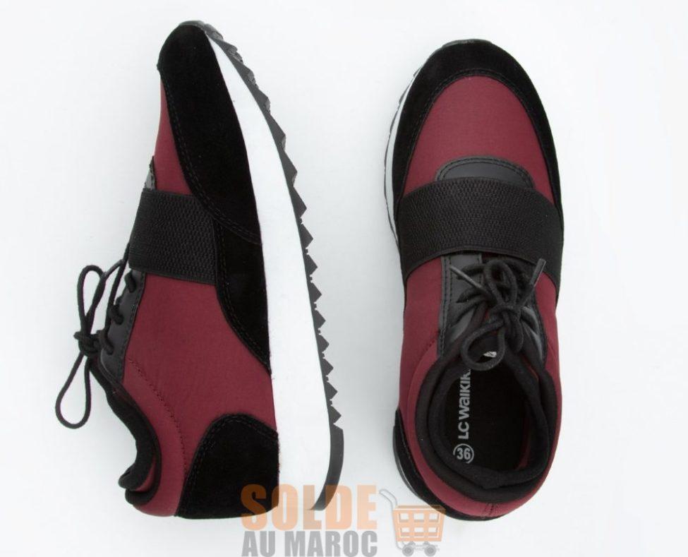 Soldes Lc Waikiki Maroc Chaussures sport femme 109Dhs au lieu de 219Dhs