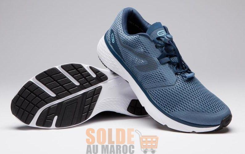 Nouveau chez Decathlon Chaussure KALENJI Jogging Run Support Breath Homme Bleu 329Dhs