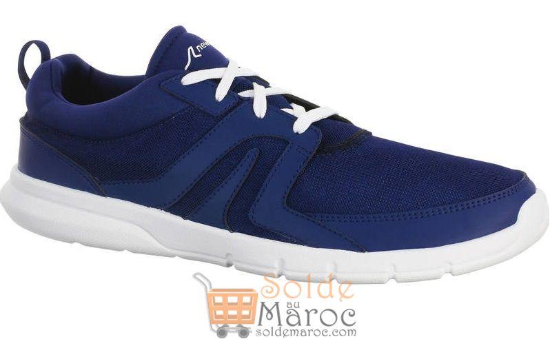 Soldes Decathlon Maroc Chaussures marche sportive Soft 100 Mesh 99Dhs au lieu de 129Dhs