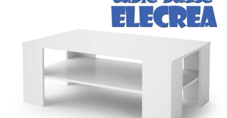 Photo of Soldes Azura Home TABLE BASSE ELECTRA 599Dhs au lieu de 889Dhs