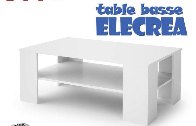 Soldes Azura Home TABLE BASSE ELECTRA 599Dhs au lieu de 889Dhs