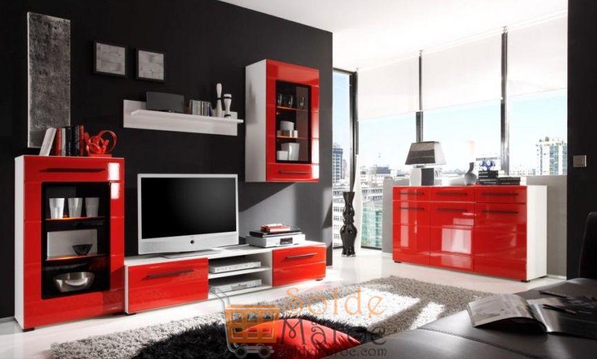 Solde Azura Home ENSEMBLE MEUBLE TV PAMELA 240 CM + BUFFET 5990Dhs au lieu de 6890Dhs