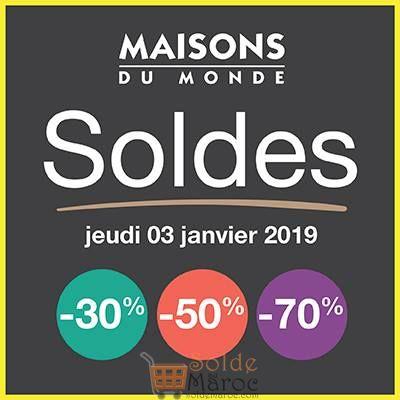Photo of Soldes Maison du monde Maroc aujourd'hui Jusqu'à -70%