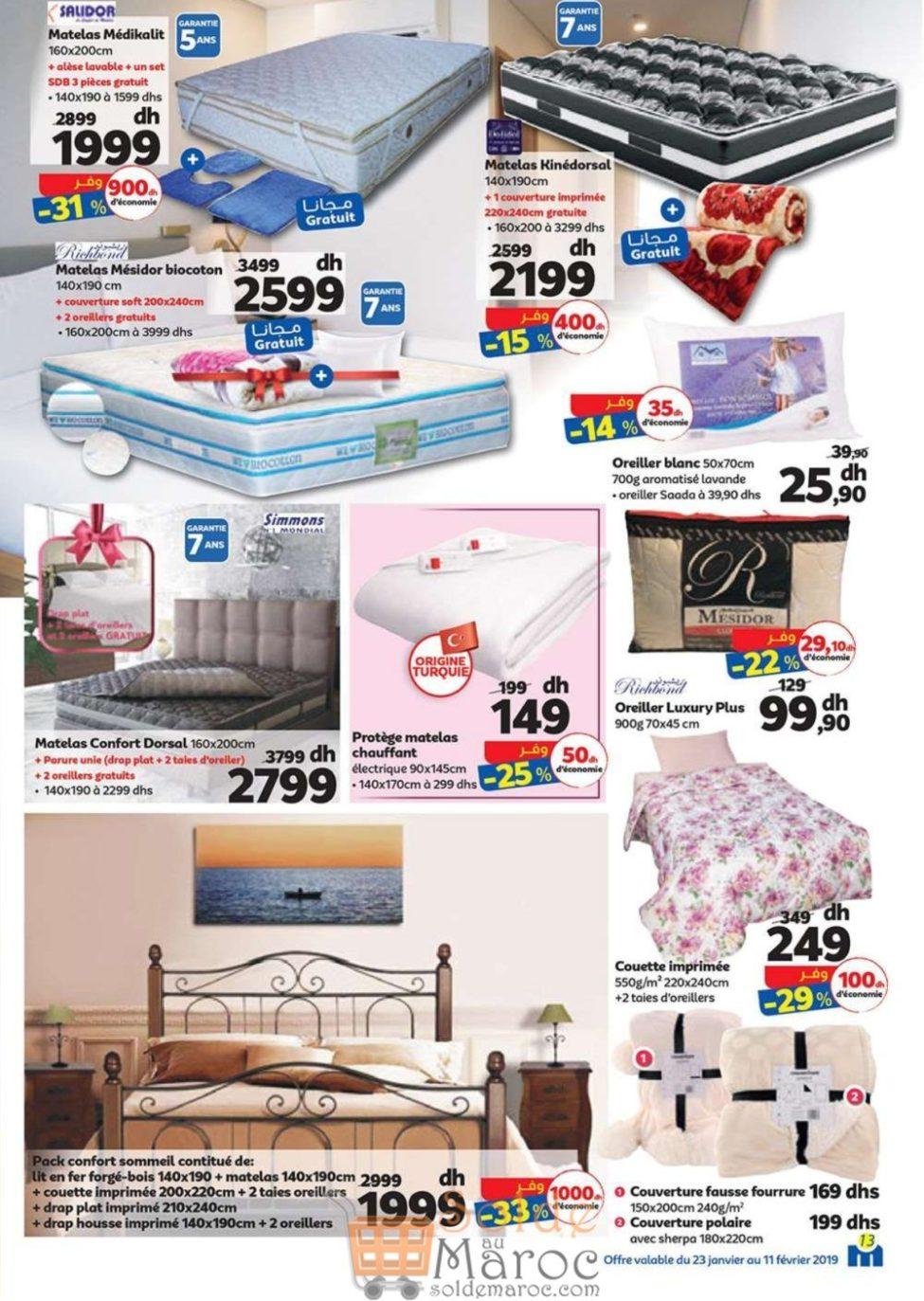 Catalogue Marjane du 23 Janvier au 11 Février 2019