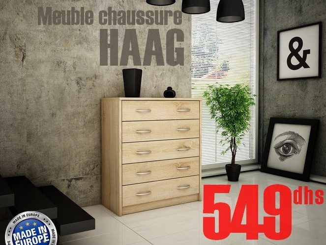 Soldes Azura Home MEUBLE CHAUSSURES HAAG 549Dhs au lieu de 990Dhs