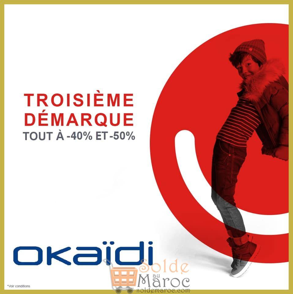 Troisième Démarques chez OKAIDI Maroc