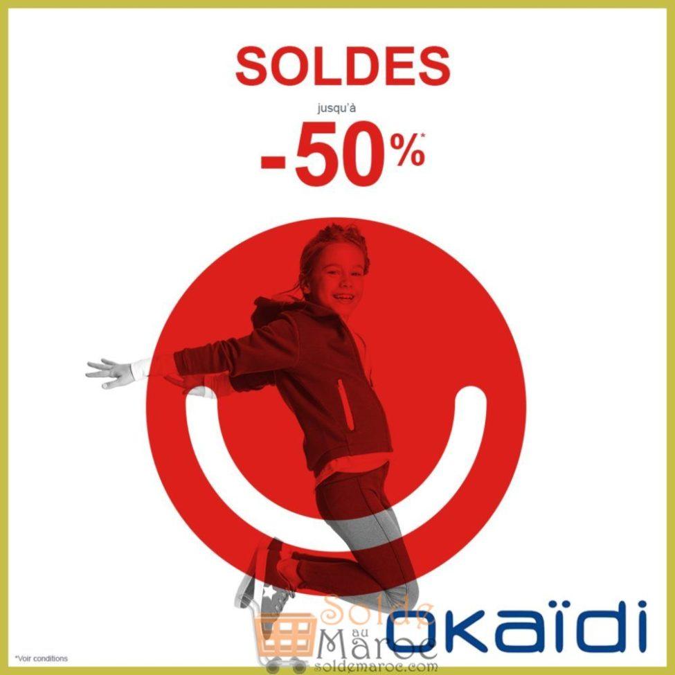 Soldes d'hiver 2019 chez OKAIDI Maroc jusqu'à -50%