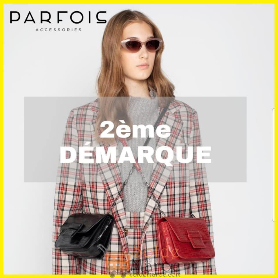 Soldes Parfois Maroc 2ème Démarque