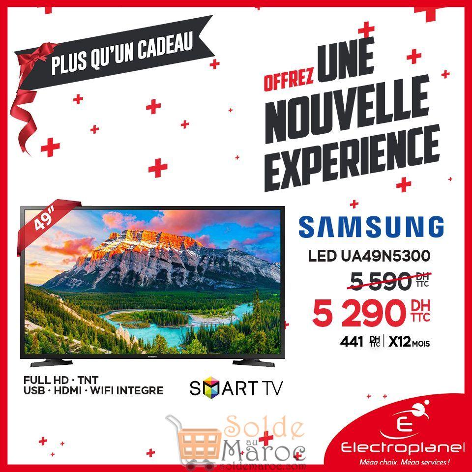 Promo Electroplanet Smart TV 49° Samsung 5290Dhs au lieu de 5590Dhs
