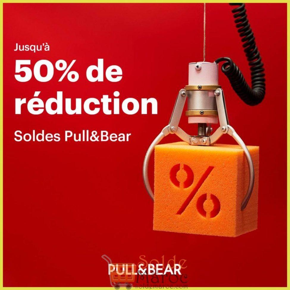 Soldes d'hiver 2019 chez PULL&BEAR Maroc jusqu'à -50%