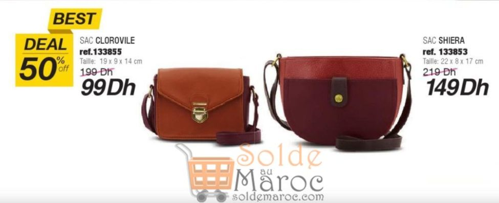 Best Deal Sophie Paris Maroc -50% Sac CLOROVILE