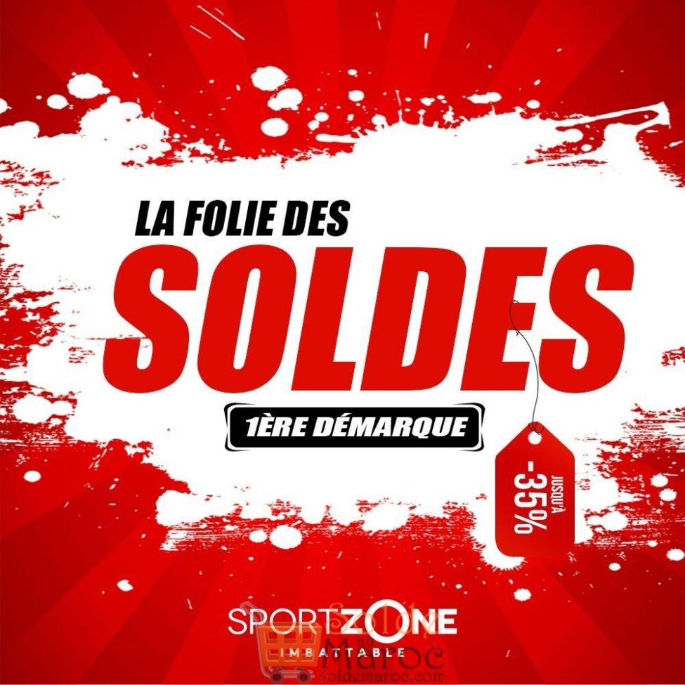 Soldes Sport Zone Maroc 1ère Démarque jusqu'à -35%