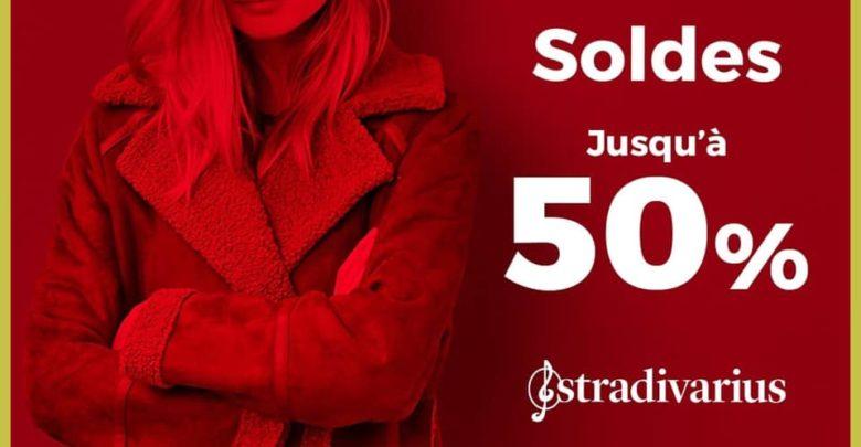 Soldes d'hiver 2019 chez STRADIVARIUS Maroc jusqu'à -50%