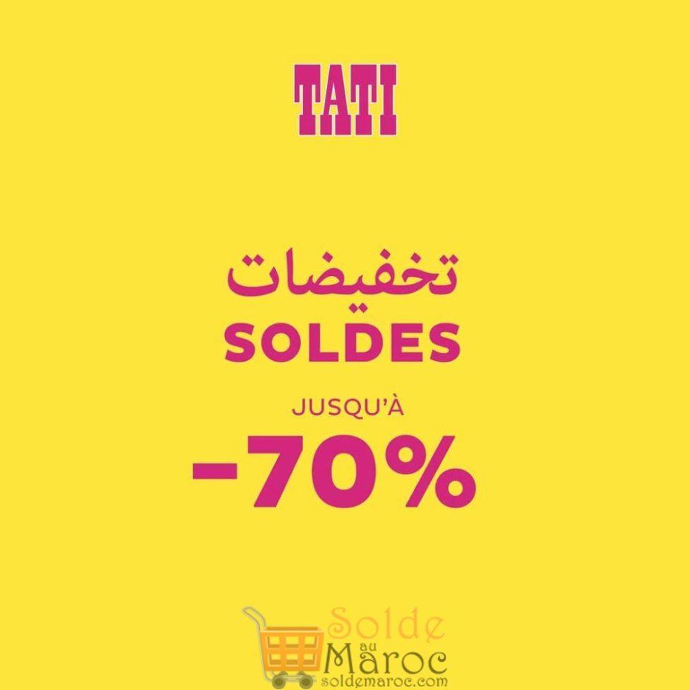 Solde d'hiver chez Tati Maroc jusqu'à -70%