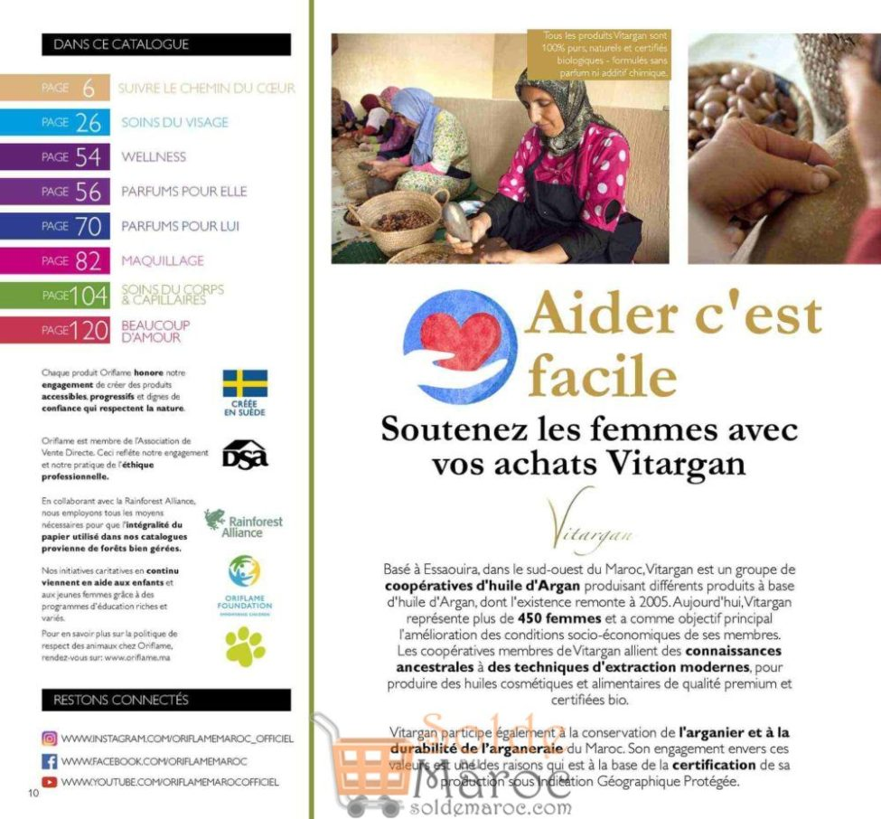 Catalogue Oriflame Maroc Février 2019