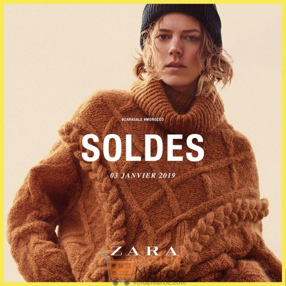 Soldes d'hiver 2019 chez ZARA Maroc