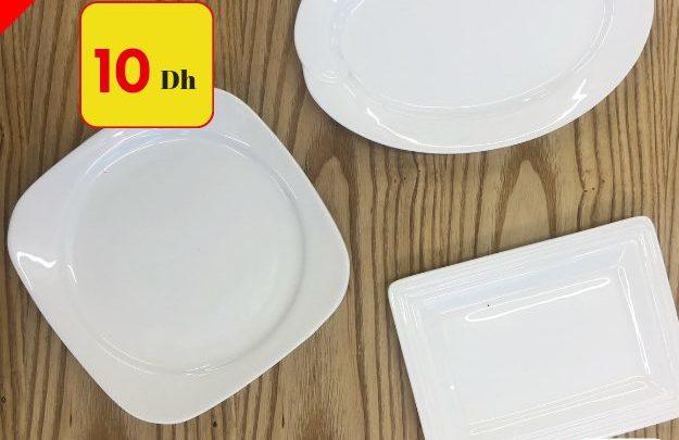 Promo Alpha55 Articles en porcelaine à partir de 5Dhs