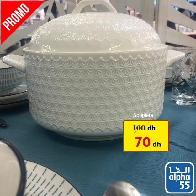 Promo Alpha55 Bols ceramic et Soupières