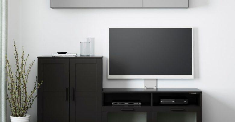 Photo of Soldes Ikea Maroc Combinaison meuble TV noir BRIMNES 1994Dhs au lieu de 2190Dhs