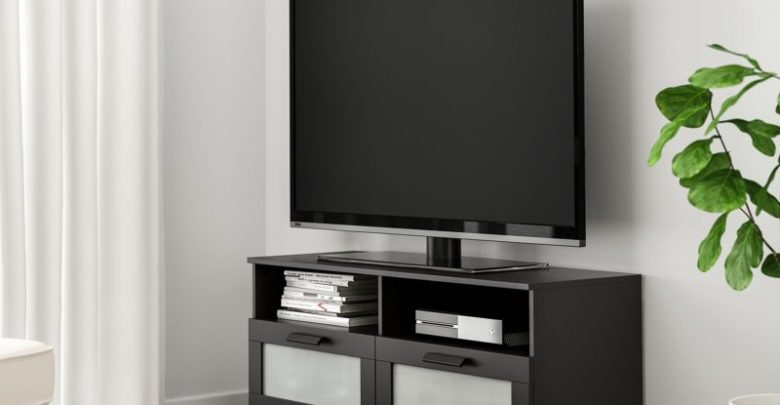 Photo of Soldes Ikea Maroc Meuble TV BRIMNES noir 899Dhs au lieu de 1095Dhs