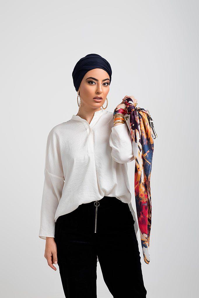 Lookbook Diamantine Châle et foulard 2019