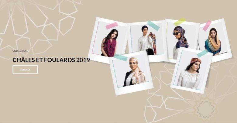 Photo of Lookbook Diamantine Châle et foulard 2019