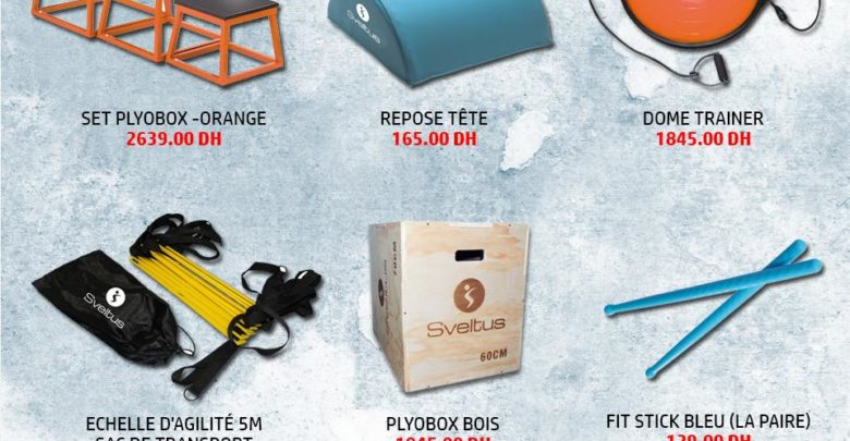 Photo of Flyer Go Sport Sélection de produits Sveltus